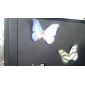 nota simulación mariposa auto stick (color al azar)