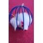 Коты Игрушки для животных Шарообразные Мышь Красный / Зеленый / Синий / Желтый / Лиловый / Радужный Металл