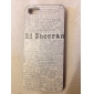 Newspaper Advertising Pattern Hard Case for iPhone 5/5S