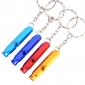 Outdoor Alloy Multipurpose Survival Whistle