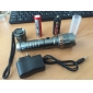 UltraFire LED Flashlights / Torch LED 1000 lm 6 Mode Cree XM-L T6 with Battery and Charger Zoomable Adjustable Focus