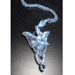 Женский Ожерелья с подвесками Заявление ожерелья Серебрянное покрытие Позолота Сплав Мода бижутерия Бижутерия Назначение Свадьба Для