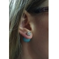 Women's Stud Earrings Fashion Imitation Diamond Alloy Jewelry For Party Daily Casual