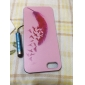 Red Feather Birds  Pattern Hard Case & Touch Pen for iPhone 5/5S