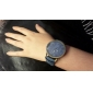 Women's Fashion Diamond Colorful Strip Design Quartz Analog Denim Cloth Band Wrist Watch(Assorted Colors) Cool Watches Unique Watches Strap Watch