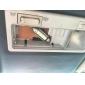 42mm 4 smd levou lâmpada branca 5500k dc 12v luz de leitura de alta qualidade