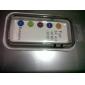 안양 삼성 S4 미니 i9190을위한 다채로운 중간 투명 TPU + PC의 범퍼 (모듬 된 색상)