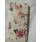 Blooming Flowers Pattern Embossment PC Hard Case for iPhone 5/5S