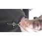 Men's Women's Pendant Necklaces Cross Stainless Steel Rhinestone Titanium Steel Imitation Diamond Cross Fashion Personalized Jewelry For