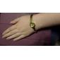 아가씨들 패션 시계 손목 시계 팔찌 시계 석영 밴드 우아한 골드