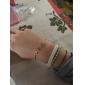 Bracelet Manchettes Bracelets Alliage Autres Original Mode Quotidien Décontracté Regalos de Navidad Bijoux Cadeau Doré Noir,1pc