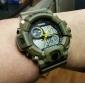SKMEI Masculino Relógio de Pulso Relogio digital Quartzo Digital Quartzo JaponêsLCD Calendário Cronógrafo Impermeável Dois Fusos Horários
