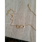Necklace Pendant Necklaces Jewelry Halloween / Daily Infinity Adjustable Alloy / Gem Gold 1pc Gift