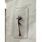 Pour Coque iPhone 5 Transparente Motif Coque Coque Arrière Coque Jeux Avec Logo Apple Dur Polycarbonate pour iPhone SE/5s/5