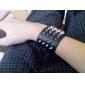 estilo retro do punk aranha escuro pulseira de design