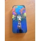 Joyland Giraffe with Wild-curl Up Pattern ABS Back Case for iPhone 5/5S