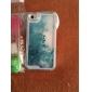 de manière transparente sable glitter cas de motif d'étoile bling sables mouvants pour iPhone 4 / 4s