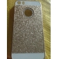 Solid Luxury Bling Glitter Cover Case with Back Hole for iPhone 5/5S
