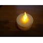 1pc желтый свет свечи света светлый свет партии (4.5x3.9x3.9cm)