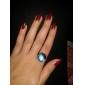 anel galáxia cúpula de vidro cabochão anel nebulosa do espaço artesanal