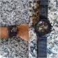 남성용 밀리터리 시계 손목 시계 석영 섬유 밴드 블랙 블루 그린