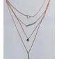 Ожерелья с подвесками Сплав Для вечеринок / Повседневные / Спорт Бижутерия