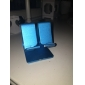 Metal Simple Designs Desktop Stand for iphone/ iPad and Other Tablet(Blue)