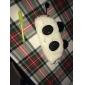 carpeta encantadora multiusos tela panda blanco y negro (1 unidad)
