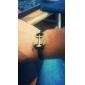 pulseira de couro prevalece âncora (cores aleatórias)