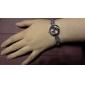Femme Montre Tendance Bracelet de Montre Quartz Bande Elégantes Blanc Violet Blanc Violet