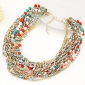 Women's Jewelry Bohemian Fashion European Elegant Festival/Holiday Strands Necklaces Statement Necklace Alloy Strands Necklaces Statement