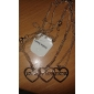 Necklace Pendant Necklaces Jewelry Alloy Party / Daily / Casual / Sports Silver Fashionable 1set Gift