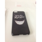 Louco Teeth Pattern Caso duro do PC para o iPhone 5C
