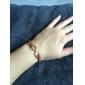 Femme Charmes pour Bracelets Bracelets en cuir Amitié Bijoux Fantaisie Ajustable Mode Personnalisé bijoux de fantaisie Cuir Alliage Infini