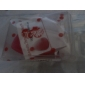 1pc Powder PuffSolid Microfiber Sponge Can Be Used Wet & Dry Non-Allergenic Swellable Drop Shape