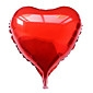 10 Inch Purple Heart Aluminium Membrane Valentine's Day Party Balloon