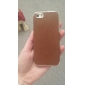 Cross Grain Leather Back Cover Case for iPhone 5/5S (Assorted Colors)