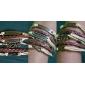 Homme Bracelets Bracelets en cuir Inspiration Perlé Vintage Fait à la main Multicouches bijoux de fantaisie Cuir Main de Fatma Bijoux Pour