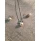 Femme Mode Pendentif de collier Collier de perles Perle Alliage Pendentif de collier Collier de perles , Quotidien