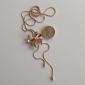 Femme Collier court /Ras-du-cou Pendentif de collier Forme de Noeud Cristal Alliage Elegant bijoux de fantaisie Bijoux Pour Mariage