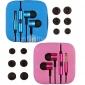 тренажерный зал высокое качество наушников с микрофоном и линия управления для андроид телефонов (ассорти цветов)