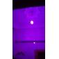 2,5 Вт e26 / e27 светодиодные шариковые лампы g60 490-700lm rgb с дистанционным управлением AC 85-265 v