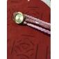 Mulheres Relógio de Moda Bracele Relógio Quartzo Leopardo PU Banda Casual Preta Branco Azul Vermelho Rosa