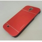 DF Luxury High Quality Solid Color Brushed Aluminium Hard Case for Samsung S4 I9500 (Assorted Color)