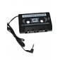 Автозвук кассета адаптер для MP3 / MP3 / Сотовые телефоны - черный (3,5 мм разъем)
