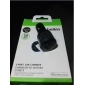 2 in 1 USB Car Charger Black for iPhone 7 / 5 / 5S / 6 / 6 Plus / iPad mini / Samsung / Huawei and Other Cellphone 2 USB Ports (20W 5V 2.1A)