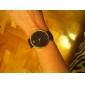 Жен. Модные часы Кварцевый Имитация Алмазный PU Группа минималист Черный Белый Коричневый