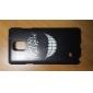 étui rigide crocs modèle de pc pour Samsung Galaxy Note 4