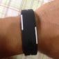 Homme Montre de Sport Montre Bracelet Numérique Calendrier LED Silikon Bande Noir Blanc Bleu Rouge Orange Marron Vert Gris Rose Violet