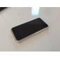 luxe alliage ultramince pare recourbée bord métal doré ajoute acrylique surface lisse corps entier Housse pour iPhone 5c
